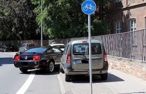 Wildes Parken gehört in Trier bei vielen zum guten Ton.