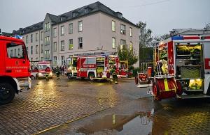 Die Feuerwehren aus Trier hatten den Brand schnell unter Kontrolle. Foto: Presseamt Stadt Trier