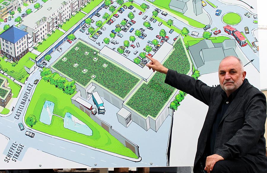 """Für Ortsvorsteher Rainer Lehnart (SPD) ist Castelnau ein """"ganzheitliches Projekt""""."""