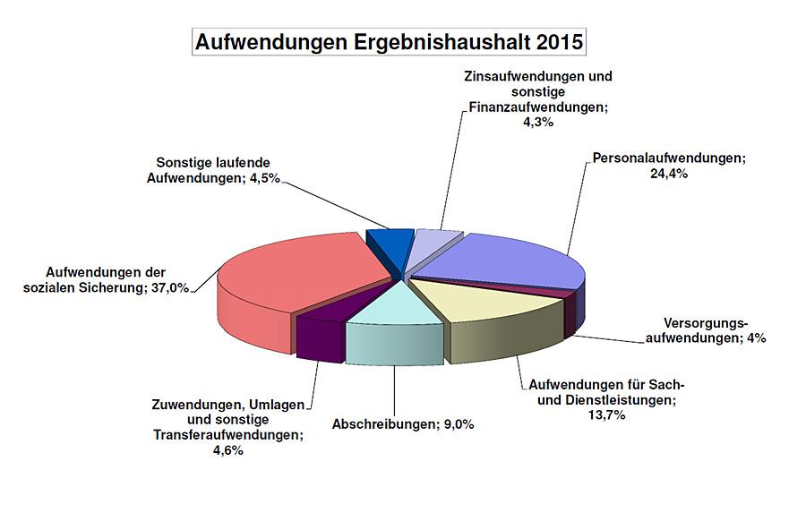 Bei den Ausgaben schlagen die Aufwendungen für die soziale Sicherung 2015 auf Platz eins. Foto: Stadt Trier