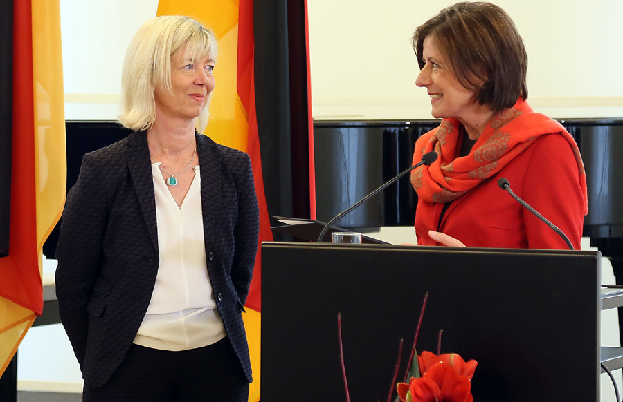 Die Triererin Doris Ahnen ist neue Finanzministerin des Landes. Foto: Stefan Sämmer/Staatskanzlei
