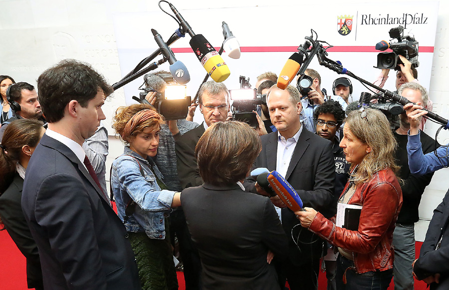 Die Ministerpräsidentin aus Trier war am Mittwoch gefragt.