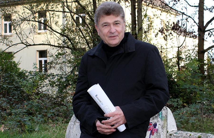 Der Trierer Politikwissenschaftler Professor Dr. Wolfgang H. Lorig.