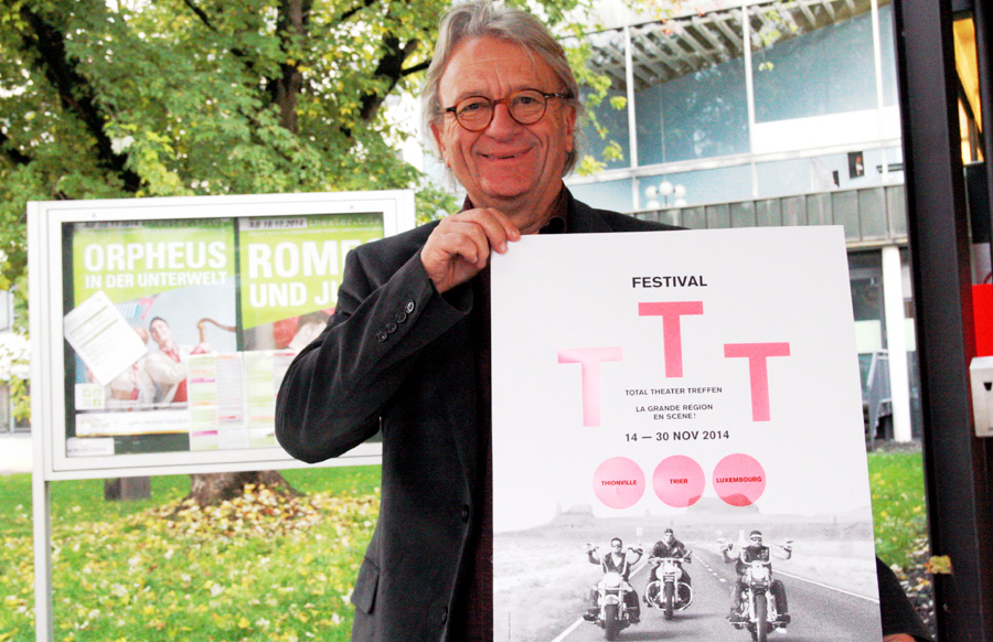 Lebt seinen Traum von einem Europäischen Theater: Triers Intendant Gerhard Weber.