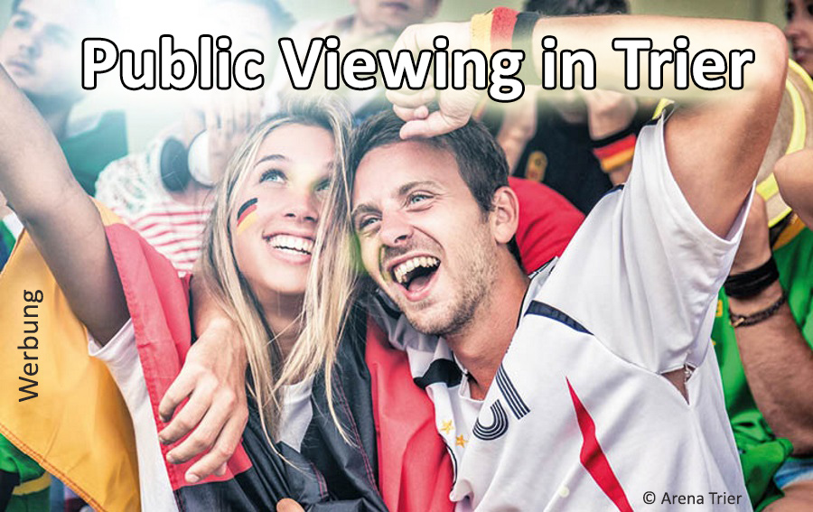Public Viewing in Trier