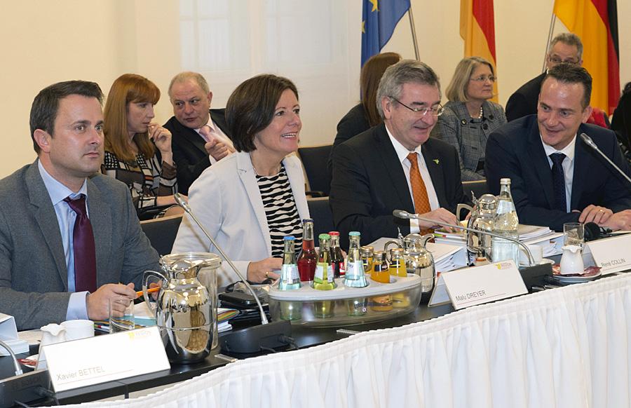 Gipfeltreffen zum Abschluss der rheinland-pfälzischen Präsidentschaft - Dreyer zog ein positives Fazit aus Sicht der Landesregierung. Foto: Pulkowski/StK