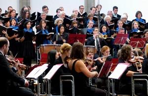 Das Collegium Musicum der Universität Trier spielt Brahms.