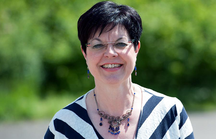 Jutta Albrecht geht offensiv mit ihren Amitionen um: Die Vorsitzende der Frauen-Union will für die Trierer CDU in den Mainzer Landtag einziehen. Foto: Dietmar Schmitt
