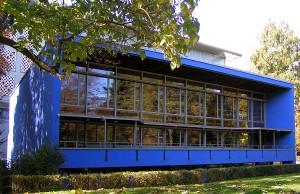 Die Trierer Stadtbibliothek.