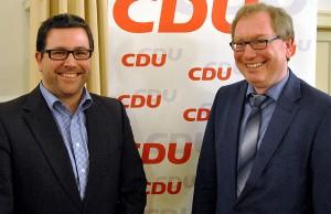 Mit 100 Prozent gewählt: Bernhard Henter (rechts). Foto: Christof Leinenbach