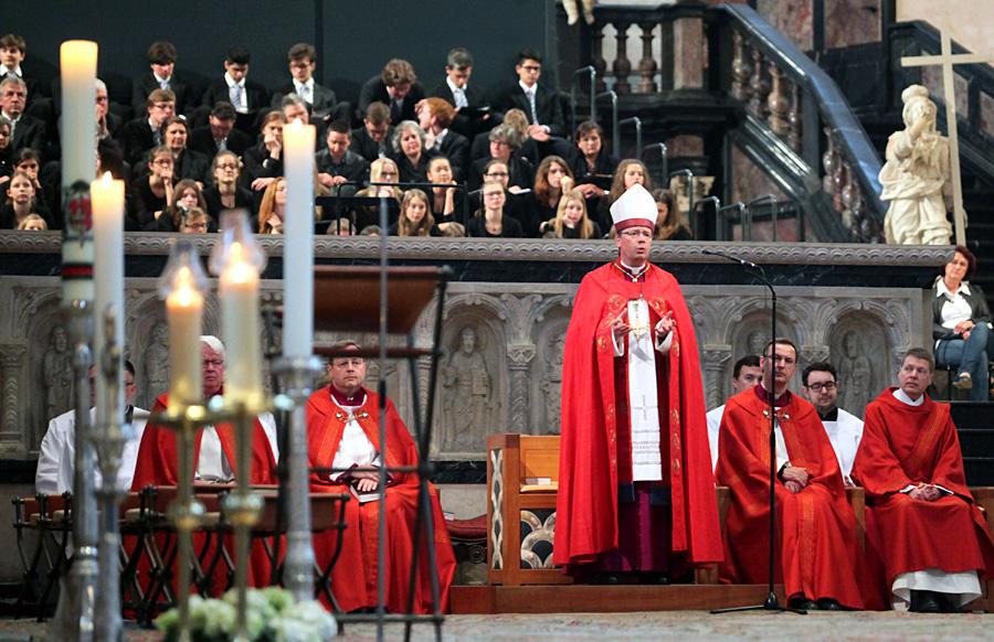 Mit einer Vesper im Dom sind die 16. Heilig-Rock-Tage in Trier zu Ende gegangen. Foto: Bistum Trier