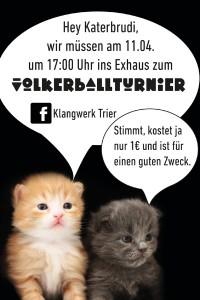 """Am 11. April im Exhaus - """"Austoben gegen Rassismus""""."""
