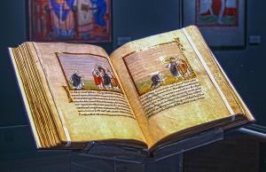 Der berühmte Codex Egberti in der Schatzkammer an der Weberbach - geschätzter Wert: rund 50 Millionen Euro. Foto: ttm