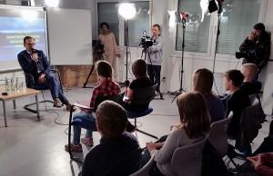 Heiko Maas stelte sich den Fragen der Schülerinnen und Schüler.