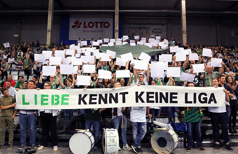 """Der Profibasketball in Trier soll durch die neue Gesellschaft """"Trierer Ballsportbewegung"""" gerettet wedren. Foto: Thewalt"""