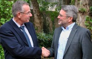 Udo Köhler (rechts) hat Ulrich Dempfle abgelöst. Foto: CDU Trier