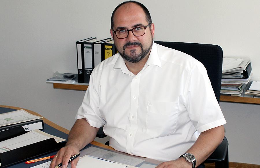 Thomas Egger erklärt seinen Eintritt in die SPD auch als Bekenntnis zur Politik von Ministerpräsidentin Malu Dreyer.