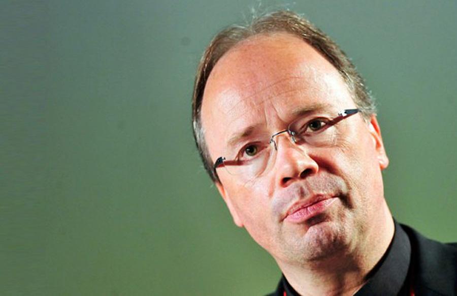 """""""Wir stoßen an Grenzen"""", sagte Triers Bischof Ackermann zum Abschluss der Vollversammlung."""
