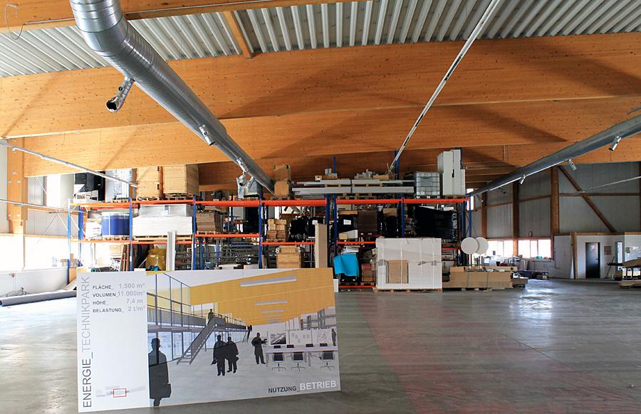 Auf dem Gelände der ehemaligen EHM-Fabrik entsteht der neue Technikpark der Stadtwerke Trier.