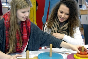 Girls' Day: Schnupperstudium an der Universität Trier.