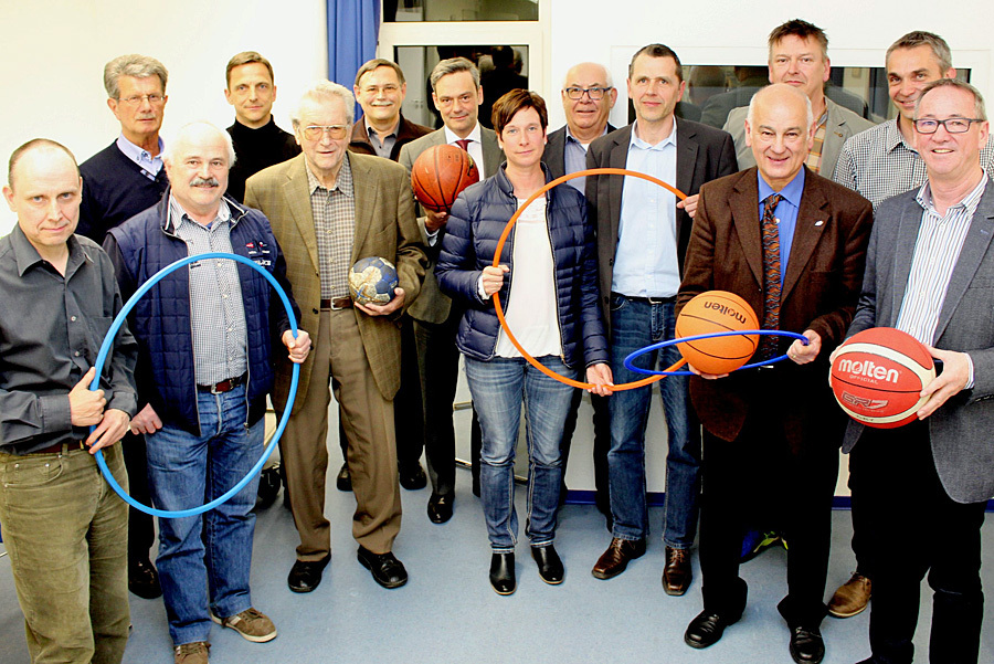 Der neue Vorstand des Trierer Stadtsportverbandes. Foto: SSV