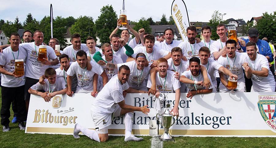 Die Eintracht holte sich in Wissen den 15. Titel im Rheinland-Pokal. Foto: FVR