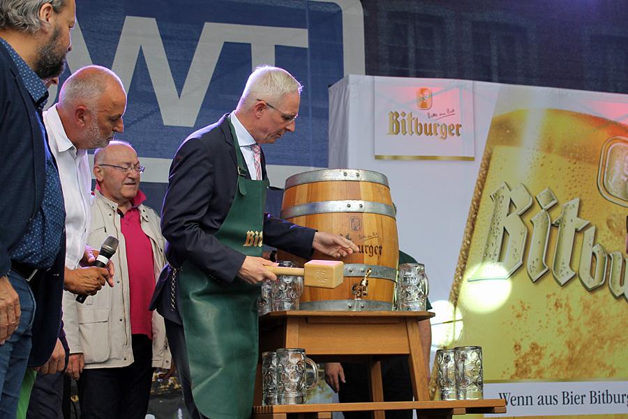 Oberbürgermeister Wolfram Leibe wird am Freitag zum zweiten Mal in seiner Amtszeit das Altstadtfest eröffnen.