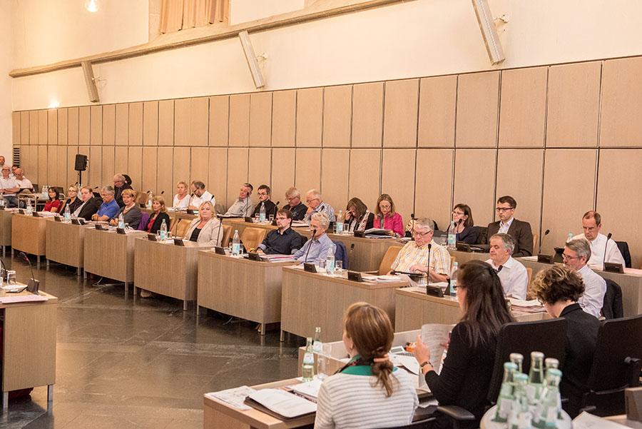 """Auch die CDU stimmte zu. """"Weil wir müssen"""", sagte Jürgen Backes. Foto: Rolf Lorig"""