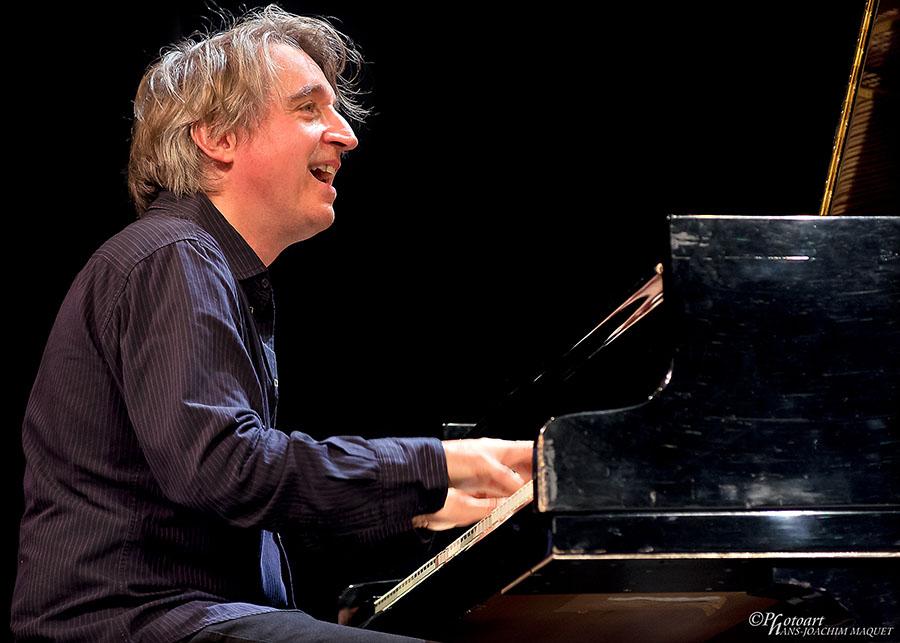 Der Schweizer Pianist Christoph Stiefel.