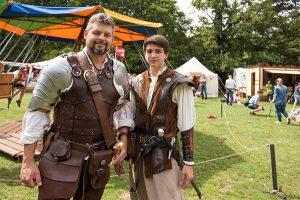 Zwei Ritter: Shayne Murphy und sein Sohn Trevor.