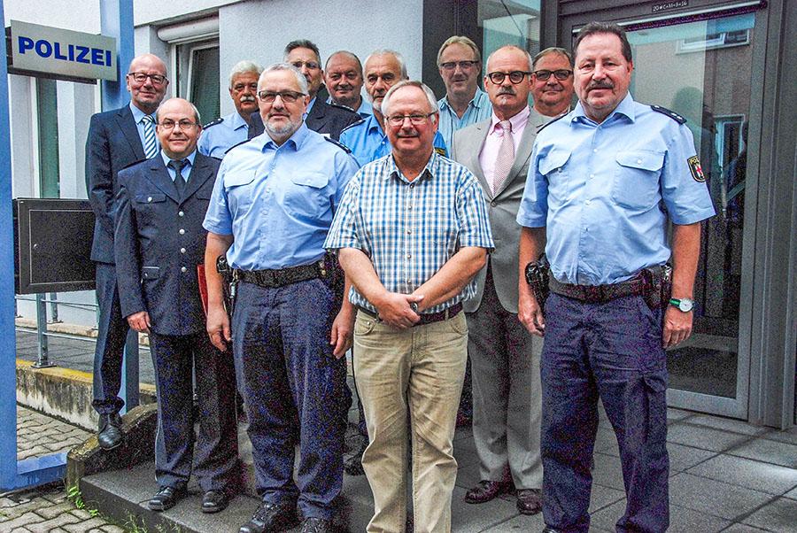 40-jähriges Dienstjubiläum bei der Polizei Trier. Foto: Polizei