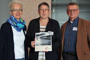 Petra Thielen, Reinhild Thomas und Bernd Schömer (v.l.).