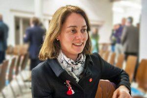 SPD-Generalsekretärin Katarina Barley. Foto: Rolf Lorig