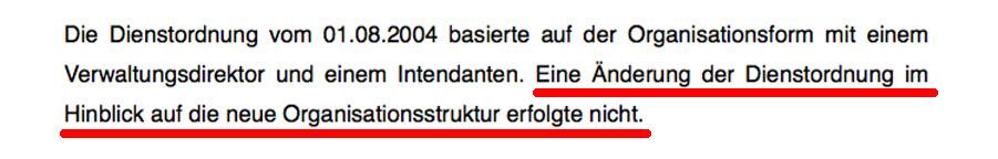 Egger unterließ es, die Dienstordnung zu ändern.