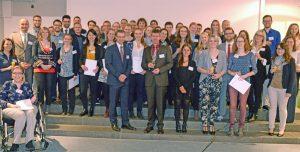 Die neuen Stipendiaten. Foto: Uni Trier