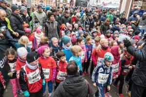 Auch die Jüngsten gingen beim Silvesterlauf an den Start.
