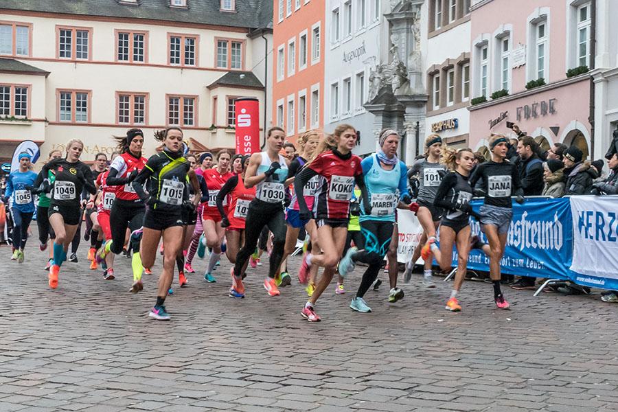 Einen guten Start erwischte Olympia-Halbfinalistin Konstanze Klosterhalen (Koko). Alle Fotos: Rolf Lorig