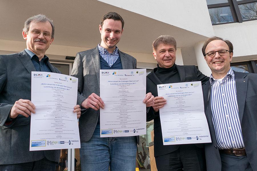 Sie sind die Motoren der neuen Veranstaltungsreihe: Rudoilf Müller, Chriastoph Wirtz, Wolfgang Lorig und Ralf Britten. Fotos: Rolf Lorig