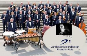 Das Landespolizei-Orchester spielt in der Basilika.
