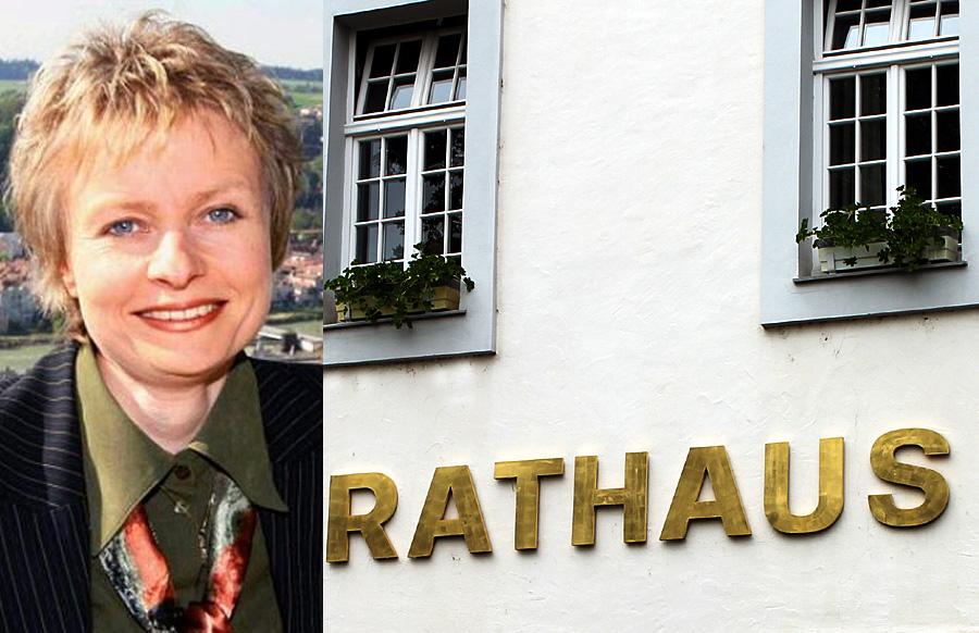 Die 45-jährige studierte Landespflegerin Claudia Baumgartner will als gemeinsame Kandidatin von SPD, FWG und FDP neue Baudezernentin der Stadt werden.