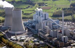 Das Kraftwerk in Hamm, an dem die SWT beteiligt sind.