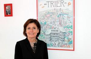 Für die gebürtige Pfälzerin Malu Dreyer ist Trier längst zum Lebensmittelpunkt geworden.