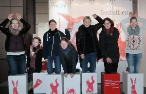 Mit einem eigenen Stand auf der Buchmesse in Leipzig: die Hochschule Trier.