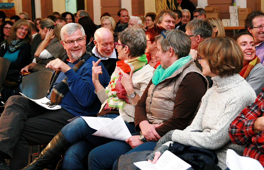 Schon Ende November war das Interesse am Thema bei der Auftaktveranstaltung im AMG groß. Foto: Gabi Böhm