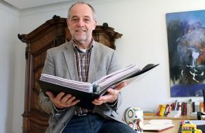 Im Freizeitdress, darum aber nicht weniger angriffslustig: Triers scheidender Oberbürgermeister Klaus Jensen.
