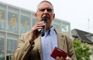 Als neuer Oberbürgermeister von Trier vereidigt: Wolfram Leibe (SPD).