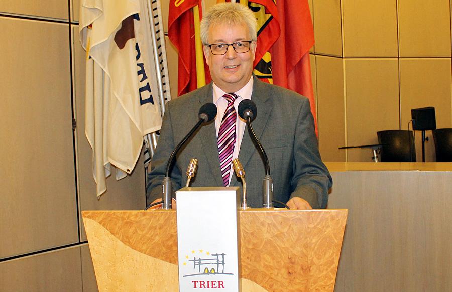 Triers neuer Baudezernent: Andreas Ludwig (CDU).
