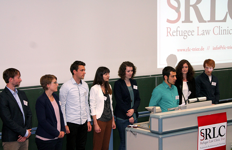 Vorsitzender Ammar Bustami hob die Bedeutung der Vernetzung für den Verein in Trier hervor. Foto: RLC
