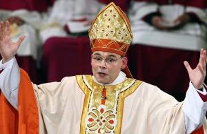 Den Wahnsinn im Blick: Franz-Peter Tebartz-van Elst, ehemaliger Bischof von Limburg. Foto: free-press