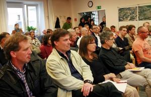 Das Interesse an Informationen über den Stadteil war groß, der Raum im Dechant-Engel-Haus gut gefüllt. Foto: Gabi Böhm